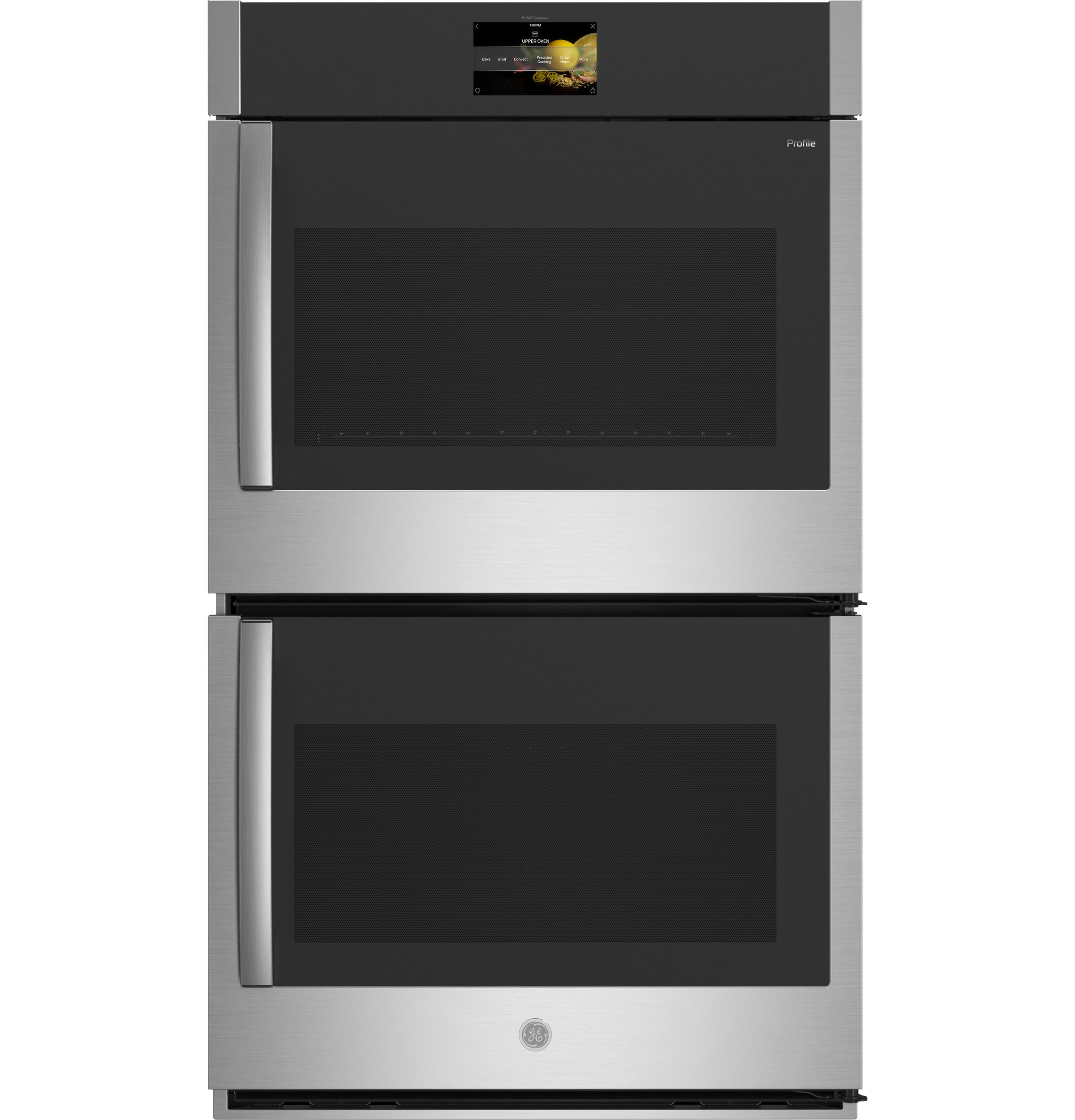 "GE Profile30"" Smart Built-In Convection Double Wall Oven With Right-Hand Side-Swing Doors"