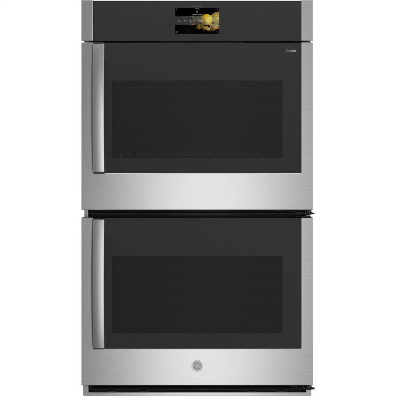 "30"" Smart Built-In Convection Double Wall Oven with Right-Hand Side-Swing Doors"