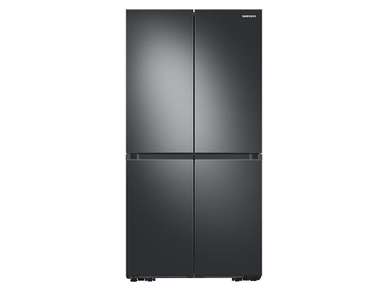 23 cu. ft. Smart Counter Depth 4-Door Flex™ refrigerator with Beverage Center and Dual Ice Maker in Black Stainless Steel