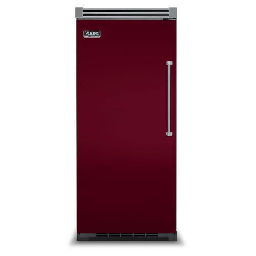 "Viking - Burgundy 36"" Quiet Cool™ All Refrigerator - VIRB Tru-Flush™ (Left Hinge Door)"