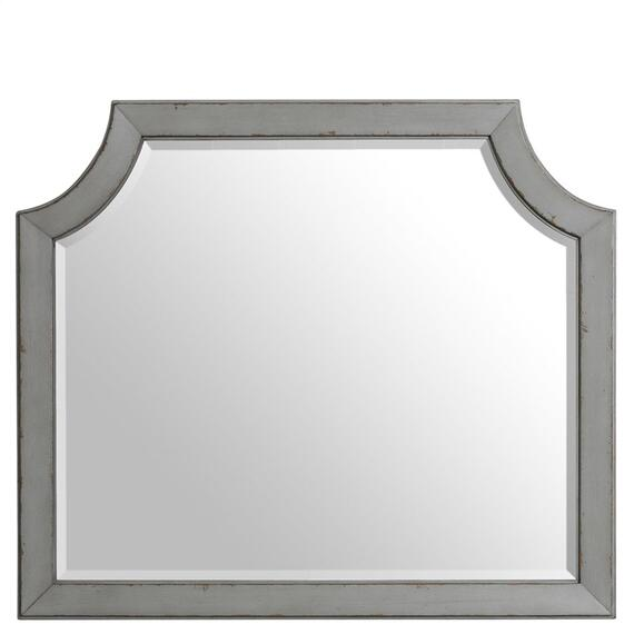 Riverside - Mirror - Chipped Gray Finish