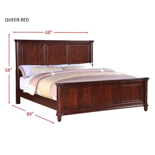 Hamilton Queen Panel Bed