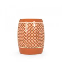 Gable Garden Stool Orange
