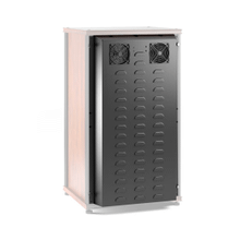 """See Details - Salamander 40\"""" Extended Rear Panel with Active Cooling, Black"""