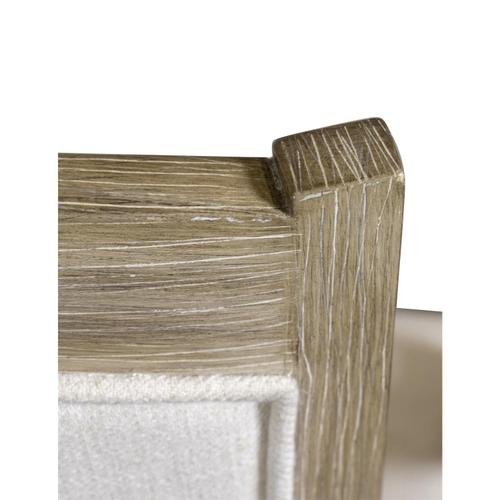 Gallery - Myra - Upholstered Desk Chair - Natural Finish