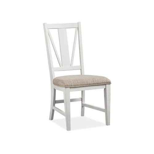 Magnussen Home - Dining Side Chair w/Upholstered Seat (2/ctn)