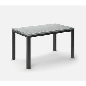 "35.5"" x 60"" Rectangular Balcony Table (no Hole) Ht: 34"" Post Aluminum Base (Model # Includes Both Top & Base)"