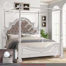See Details - Queen Canopy Bed, Dresser & Mirror