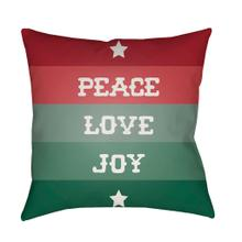"""View Product - Peace Love Joy HDY-076 20""""H x 20""""W"""
