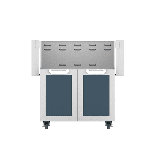 "30"" Hestan Outdoor Tower Cart with Double Doors - GCD Series - Pacific-fog"