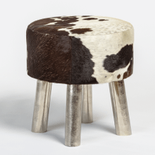 Product Image - Brooks Small Leather Ottoman