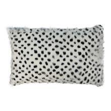 "Genuine Goatskin 12""x20"" Pillow"