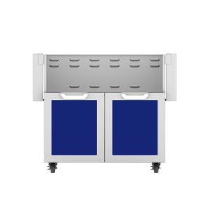 "36"" Hestan Outdoor Tower Cart with Double Doors - GCD Series - Prince"