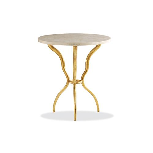 Maitland-Smith - MYST ROUND LAMP TABLE
