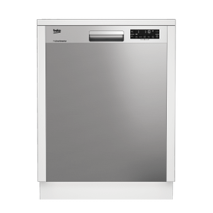 BekoTall Tub Stainless Dishwasher, 14 place settings, 48 dBA, Top Control