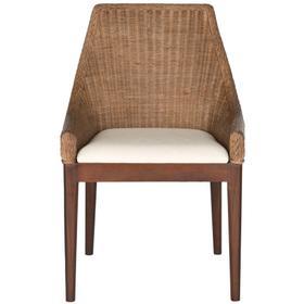 Franco Rattan Sloping Chair - Brown