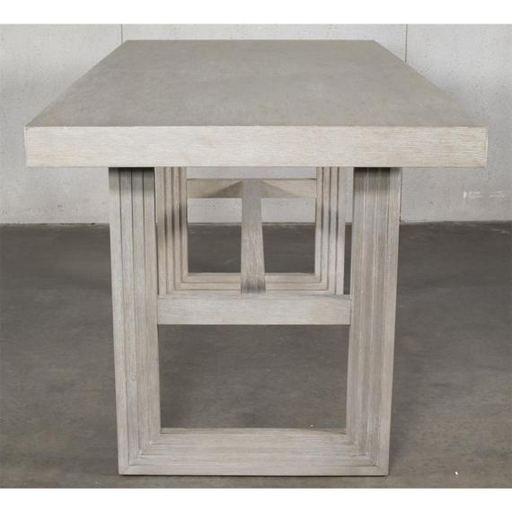 Riverside - Cascade - Rectangular Counter Height Dining Table Base - Dovetail Finish