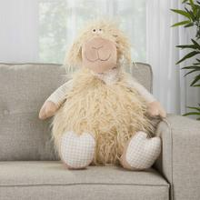 "Plushlines N1563 Ivory 1'10"" X 2'2"" Plush Animal"