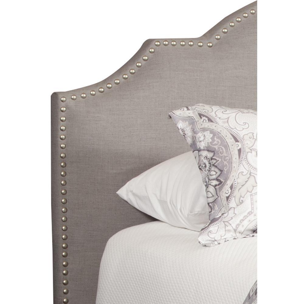 CHARLOTTE - FALSTAFF King Headboard 6/6 (Grey)