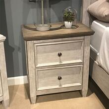 Heartland 2 Drawer Night Stand w/ Charging Station