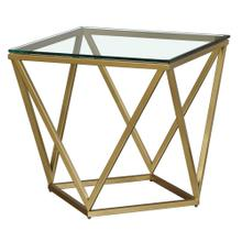 Prism Square End Table