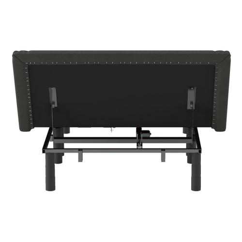 Twin XL Wireless Upholstered Adjustable Bed Base