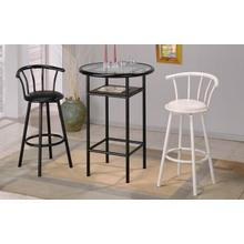 See Details - Swivel Bar stool