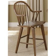 See Details - 24 Inch Swivel Counter Chair