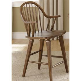 24 Inch Swivel Counter Chair