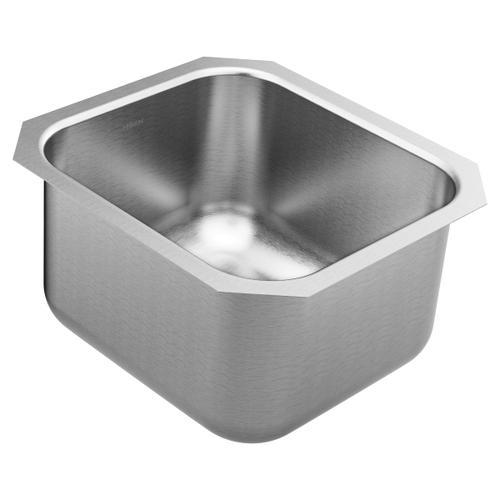 1800 Series 16.5 x 18.25 stainless steel 18 gauge single bowl sink