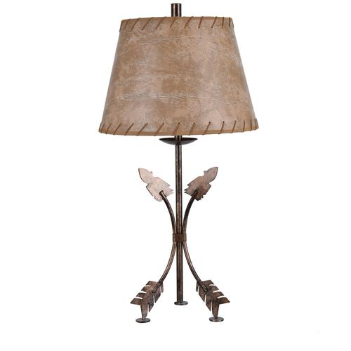 Bent Arrow Table Lamp