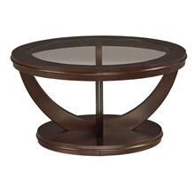 View Product - La Jolla End Table, Dark Cherry Brown