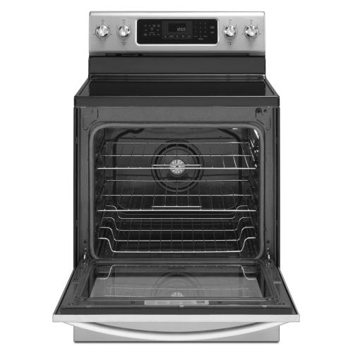 Gallery - 30-Inch 5-Element Electric Freestanding Range, Architect® Series II - Stainless Steel
