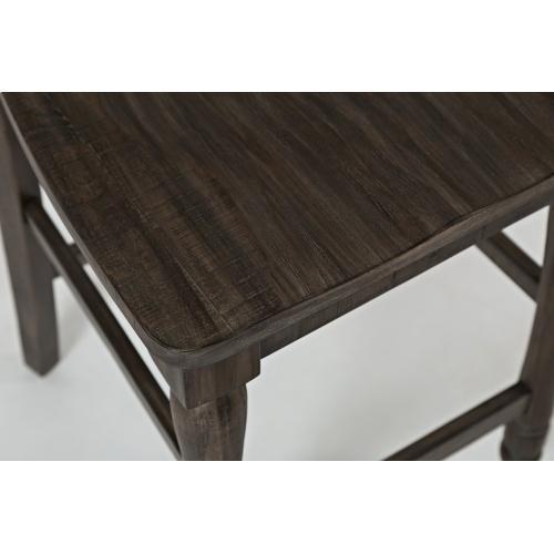 Madison County High/low Table & 4 Stools Barnwood