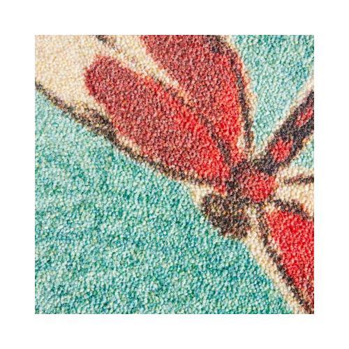 Mohawk - Summer Dragonflies, Aqua- Rectangle