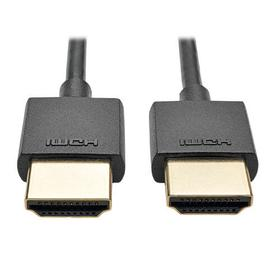 Slim High-Speed HDMI Cable with Ethernet and Digital Video with Audio, UHD 4K (M/M), 6 ft.