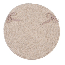 "Bristol Chair Pad WL00 Natural 15"" X 15"" (Set 4)"