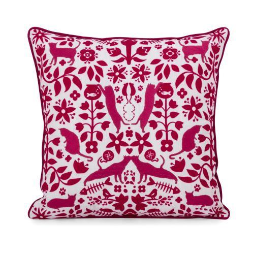 Otomi Cat Pillow 16 x 16