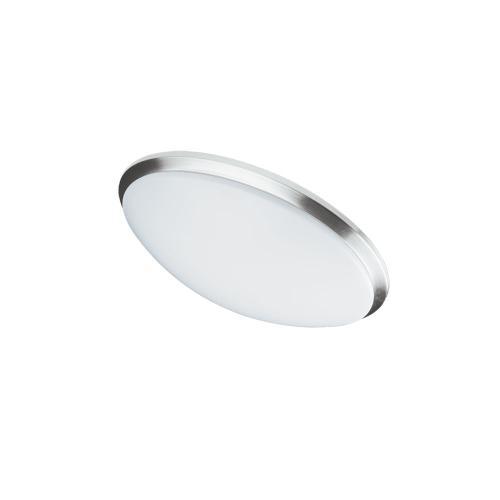 "Ceiling Flush 14w 280mm (11""), Satin Chrome"