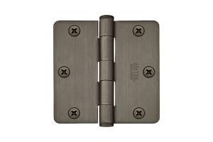"3-1/2"" x 3-1/2"" 1/4"" Radius Corners Heavy Duty Plain Bearing, Plated Steel Product Image"