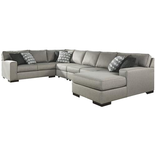 Product Image - 5-piece Sectional With Ottoman