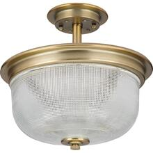 "Archie Collection Two-Light 11-3/8"" Semi-Flush Convertible"