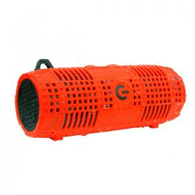 Bluetooth® IPX7 Waterproof Speaker with Rugged Silicon Body-Red