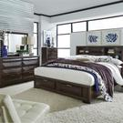 King California Storage Bed, Dresser & Mirror Product Image