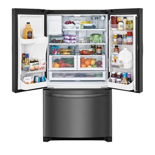 Gallery - Frigidaire 21.7 Cu. Ft. French Door Counter-Depth Refrigerator