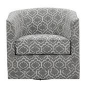 Emerald Home Milo U5029c-04-43a Swivel Chair - Joelle Ash