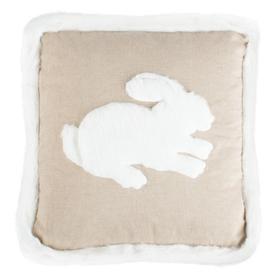 Flopsy Pillow - Beige / White