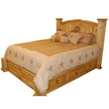 Rustic Storage Bed-star (king)