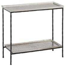 See Details - Boyles Silver Side Table