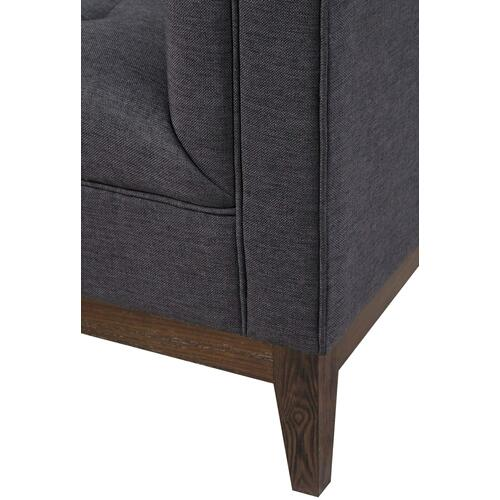 Tov Furniture - Gavin Grey Linen Chair